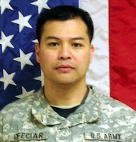 Maj. Henry San N. Ofeciar, Killed Aug. 27, 2007, Transition Team member