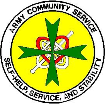 """Army Community Service Logo """"Theme and Legend"""" > Fort ..."""
