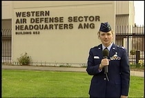 Capt. Lisa Johnson reports from the Western Air Defense Sector as part of a 1AF Now broacast