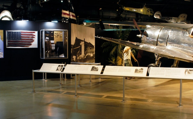 DAYTON, Ohio -- A portion of the Pearl Harbor exhibit in the World War II Gallery at the National Museum of the U.S. Air Force. (U.S. Air Force photo)