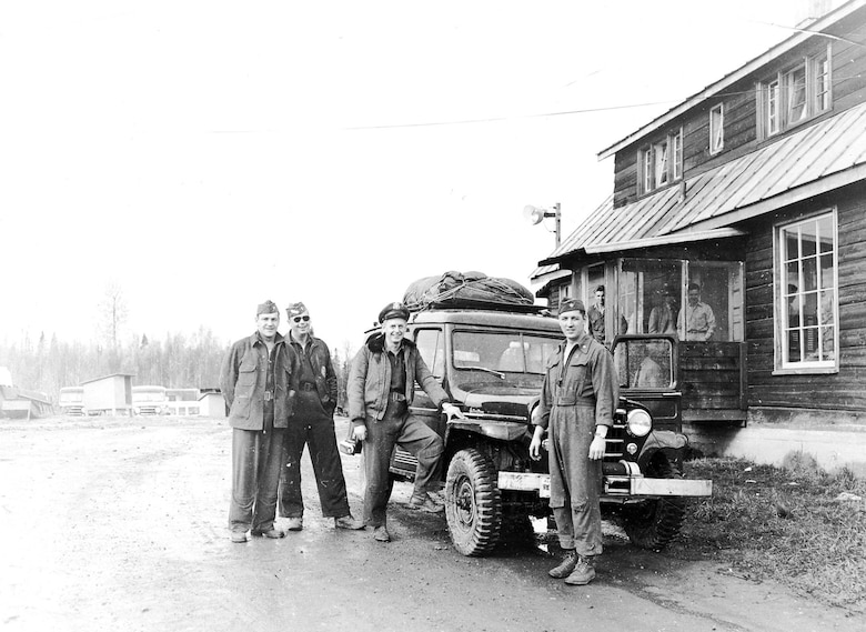 """OSI's """"Alaska Project"""" prepared for the possibility of a Russian invasion. Its main features were training observers and setting up stores of supplies in the rugged Alaskan wilderness. These scenes depict daily life for agents in Alaska. (U.S. Air Force photo)"""