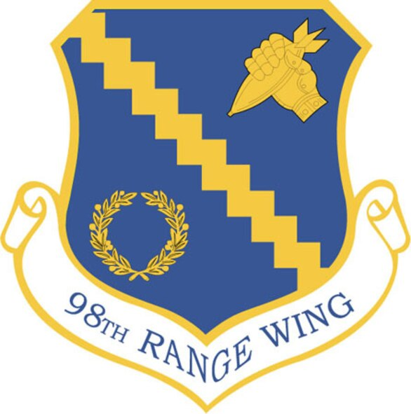 The 98th Range Wing provides command and control of the Nevada Test and Training Range (NTTR). The commander coordinates, prioritizes and is the approval authority for activities involving other governmental agencies, departments and commercial activities on the NTTR. The 98th RANW integrates and provides support for test and training programs that have a direct effect on the war-fighting capabilities of the combat air forces