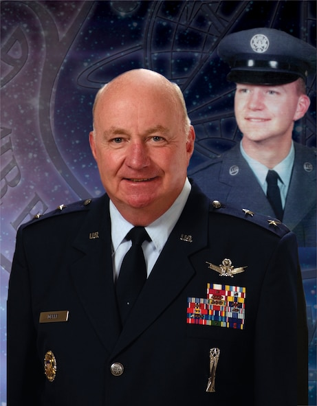 Maj. Gen. Thomas Deppe, Air Force Space Command vice commander, retires after 42 years of military service.(AFSPC graphic)