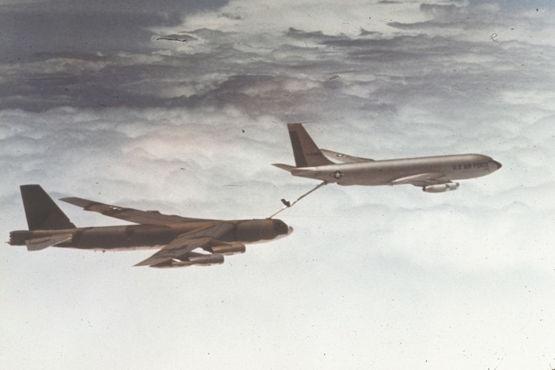 Aerial refueling made bombing missions from Guam possible. (U.S. Air Force photo)