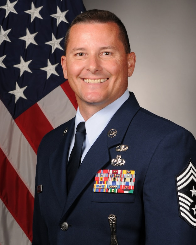 Chief Master Sgt. Richard Turcotte, 314th Airlift Wing Command Chief