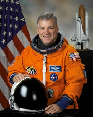 Retired Col. Greg Johnson has been selected as the pilot for Space Shuttle Discovery's upcoming mission, STS-134, which will deliver the Alpha Magnetic Spectrometer to the International Space Station. Colonel Johnson is a 1984 graduate of the U.S. Air Force Academy in Colorado Springs, Colo. (NASA photo)
