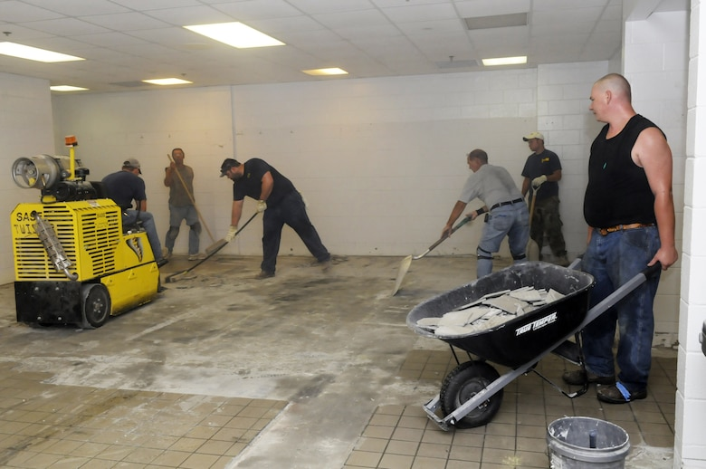 Janitor Post Construction Cleaning