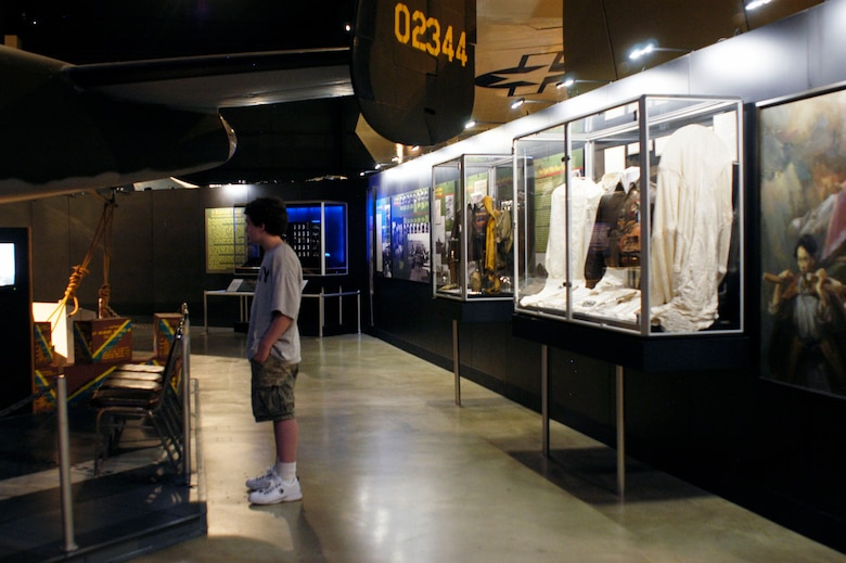 DAYTON, Ohio -- Doolittle Tokyo Raiders exhibit in the World War II Gallery at the National Museum of the U.S. Air Force. (U.S. Air Force photo)
