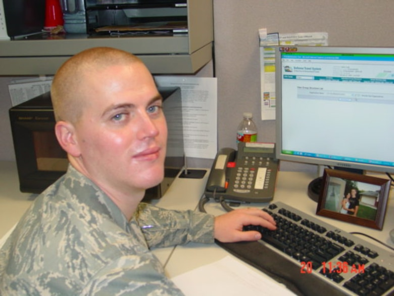 Senior Airman Nathan Smith, 460th Comptroller Squadron customer service technician, is Team Buckley's Warrior of the Week for Aug. 15-21. (Courtesy photo)
