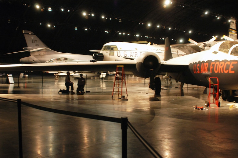 DAYTON, Ohio (09/2004) -- Martin RB-57D assembly in the Cold War Gallery at the National Museum of the United States Air Force. (U.S. Air Force photo)