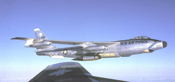 Boeing RB-47H. (U.S. Air Force photo)