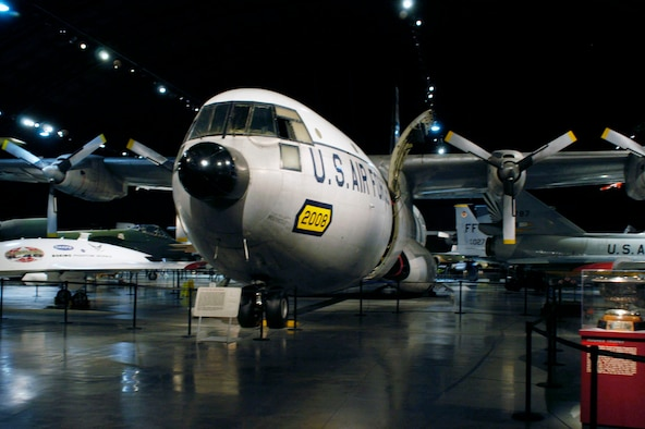 DAYTON, Ohio -- Douglas C-133A Cargomaster in the Cold War Gallery at the National Museum of the United States Air Force. (U.S. Air Force photo)