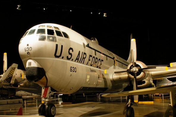 DAYTON, Ohio -- Boeing KC-97L Stratofreighter in the Cold War Gallery at the National Museum of the U.S. Air Force. (U.S. Air Force photo)