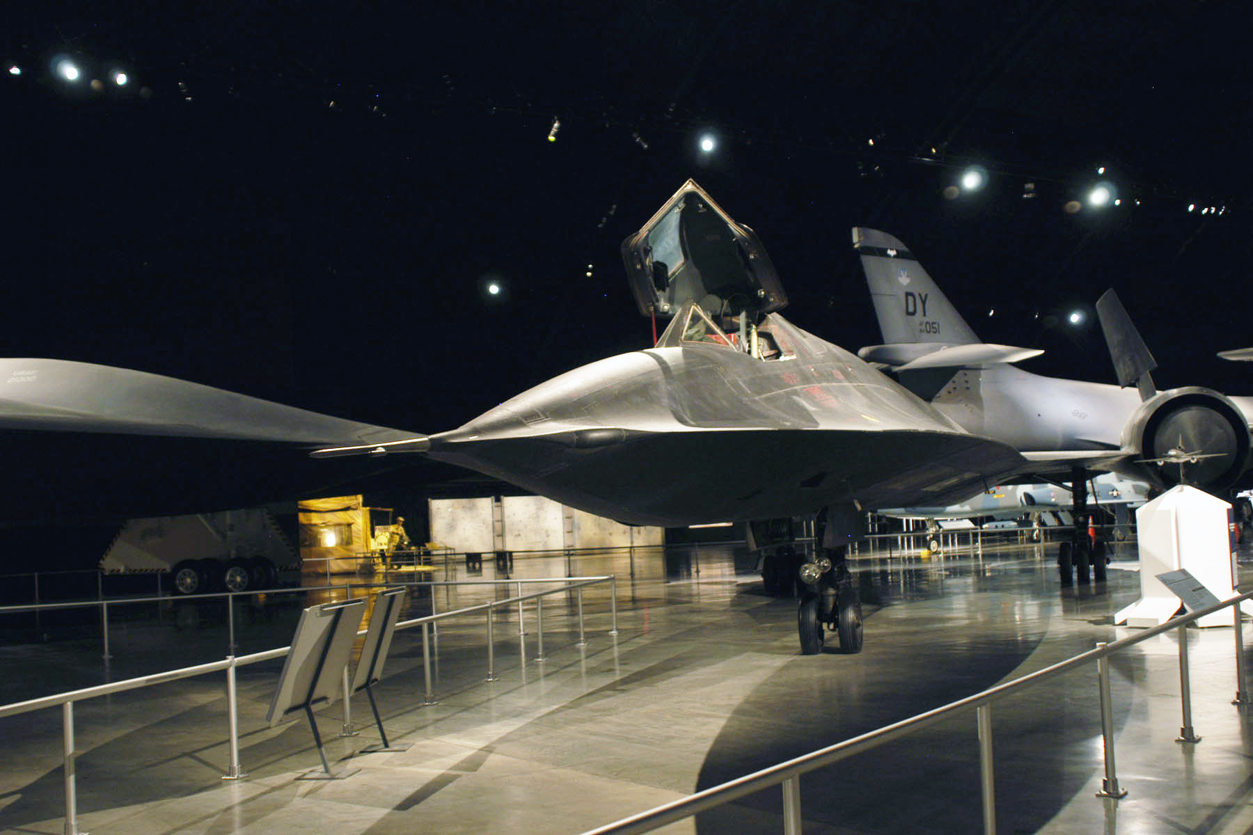 lockheed sr 71a national museum of the us air force display. Black Bedroom Furniture Sets. Home Design Ideas