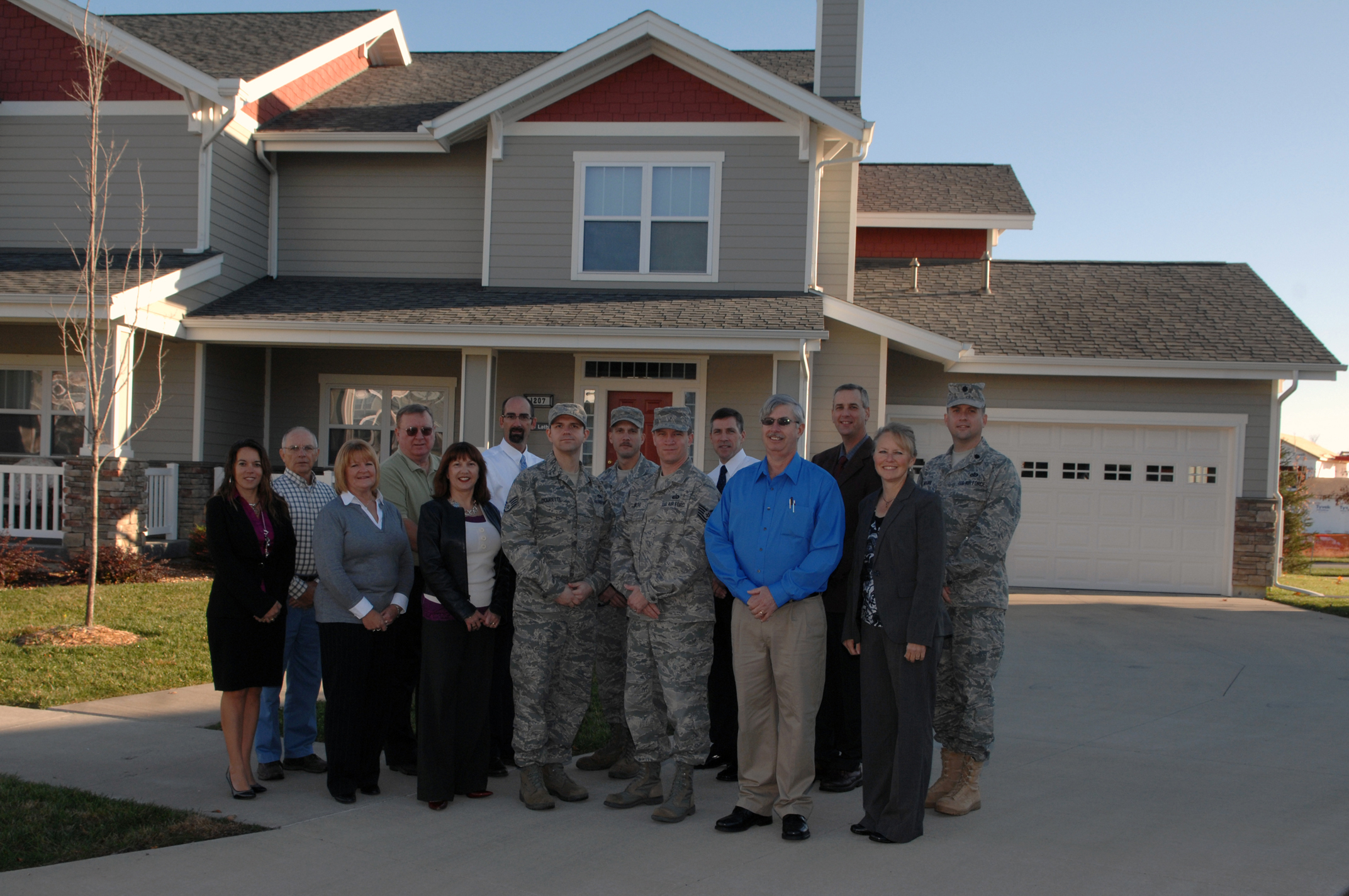 Whiteman housing office selected as 'Best in Air Force' > Air Combat