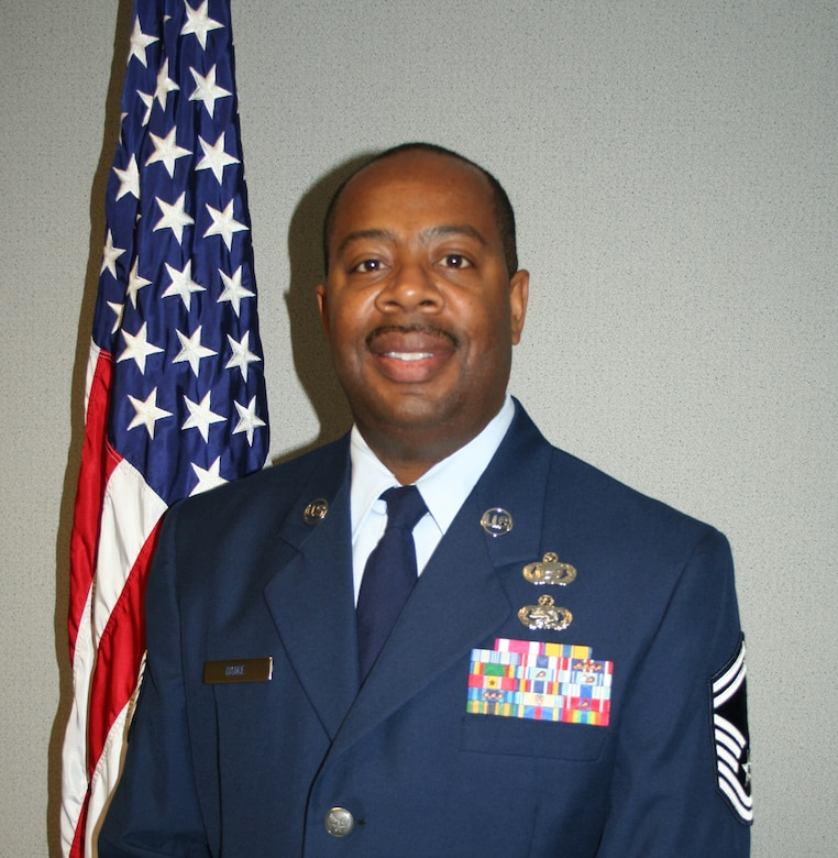 WRIGHT-PATTERSON AIR FORCE BASE, Ohio - Senior Master Sgt. Charles Duke has been selected as the Senior Non-Commissioned Officer of the Year.  He is assigned to the 445th Aeromedical Evacuation Squadron.  Sergeant Duke was selected as the unit's top performer during a recent unit compliance inspection and as a superior performer by the Health Services Inspection team.  Sergeant Duke is a community activist who volunteers and teaches vocational and technical cluster at the YMCA.  He is currently pursuing an education degree in training and development at Northcentral University.