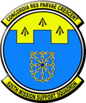 926th Mission Support Squadron patch