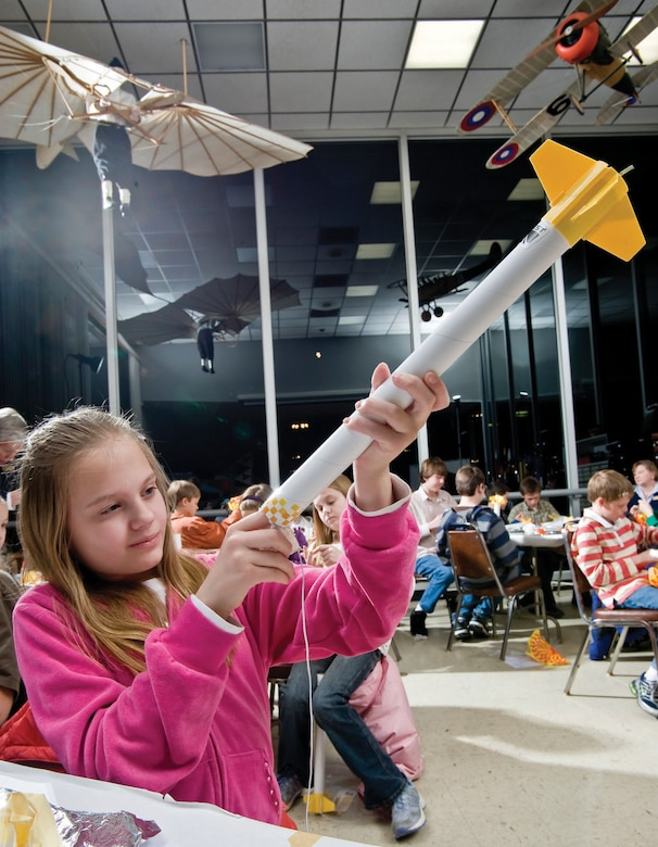 DAYTON, Ohio -- The National Museum of the U.S. Air Force offers a variety of educational programs for all ages. (Air Force Museum Foundation photo by Dan Patterson)