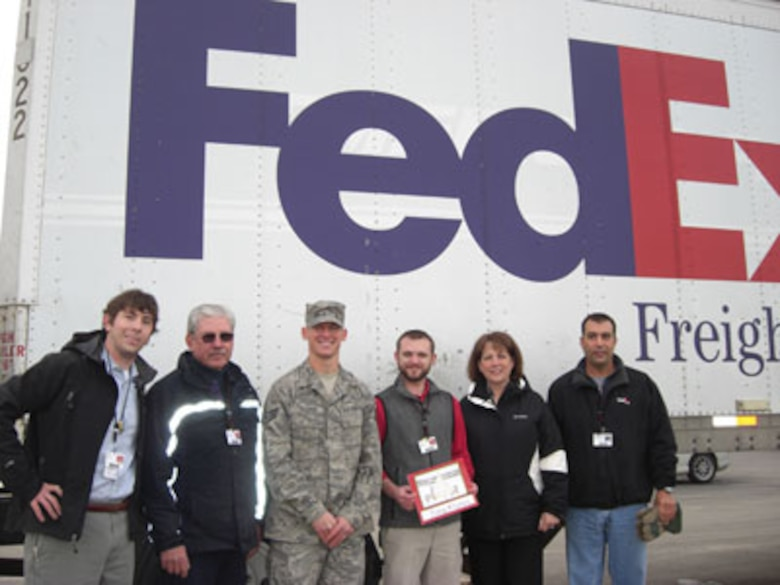This holiday season, FedEx Freight delivered 25 fresh Christmas Trees to families of base personnel at Hancock Field Air National Guard Base. Celebrating its fifth year, Trees for Troops is a program sponsored by the Christmas SPIRIT Foundation and FedEx Corp.