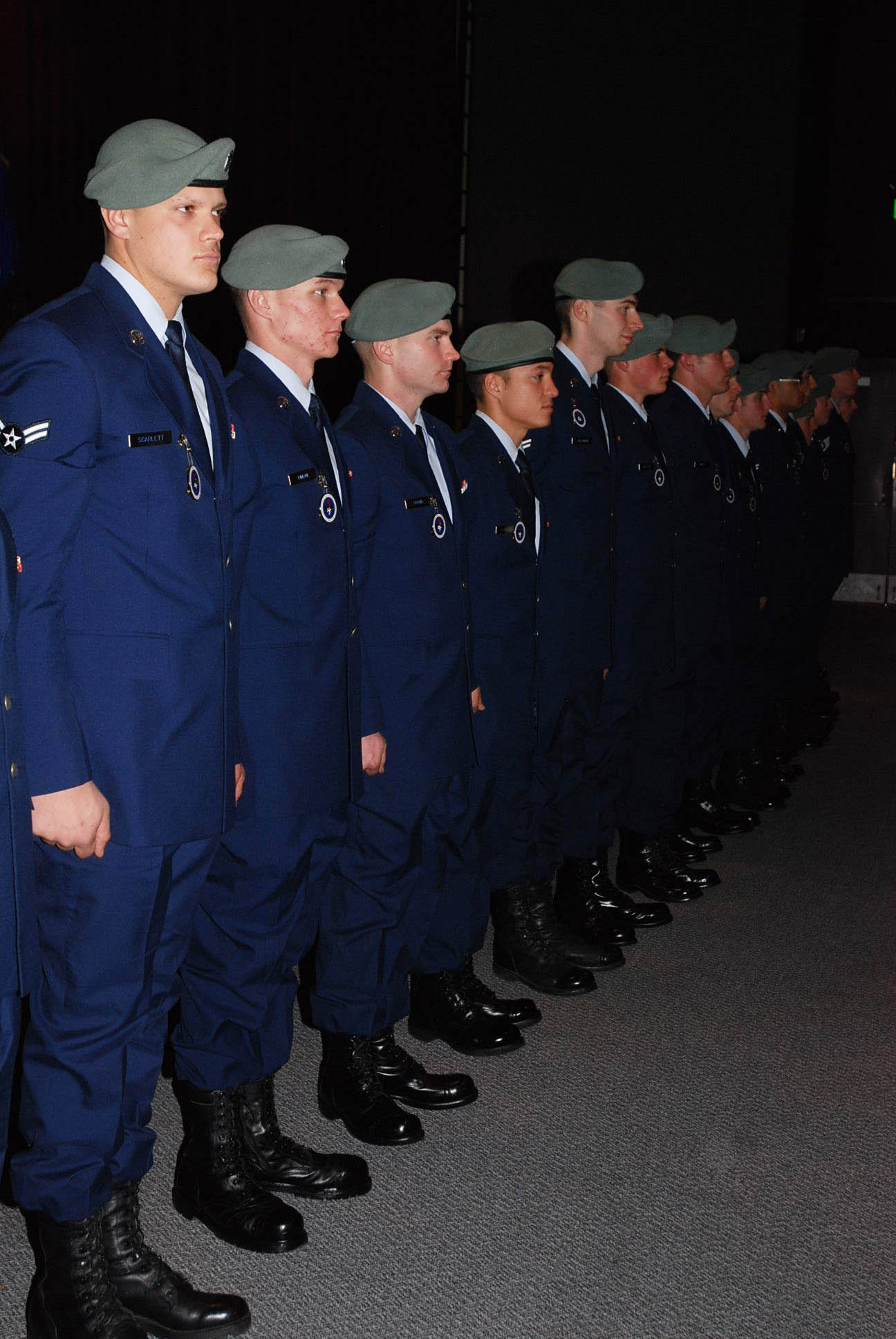 SERE fire circle: 28 new Airmen prove themselves worthy of