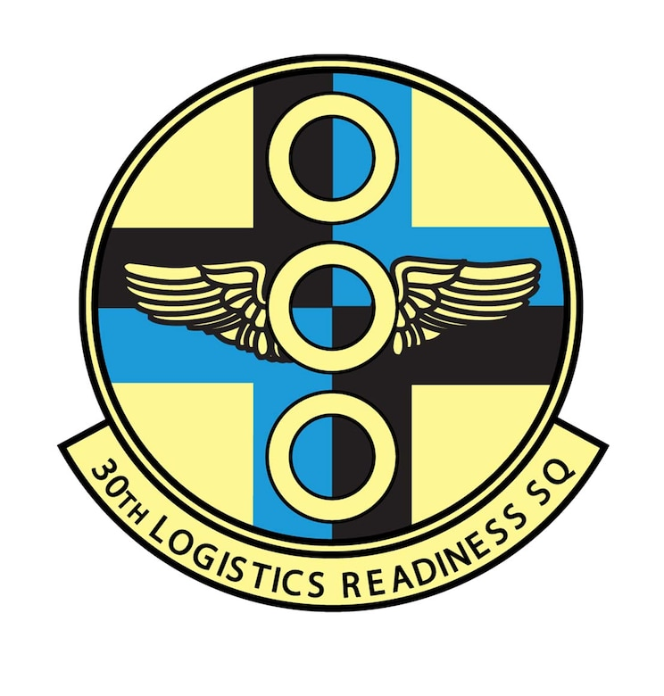 30th Logistics Readiness Sqsuadron emblem