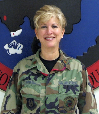 Reservist Maj. Lisa Howell, 926th Group Senior Mission Intelligence Coordinator, recently won Outstanding Air Reserve Component Intelligence, Surveillance and Reconnaissance Field Grade Officer of the Year for 12th Air Force's 2008 Air Force ISR Awards.  (courtesy photo)