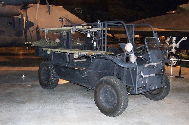 The Rescue All Terrain Transport (RATT) is a high-mobility vehicle used by Air Force special operations to transport and treat casualties in the field, for airfield seizures and as a field utility vehicle. (U.S. Air Force photo)