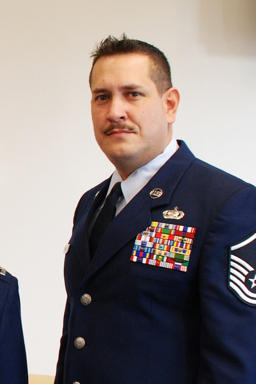 Master Sgt. Gary Hayner of the 139th Logistics Readiness Squadron, as he was recently named the Missouri Air National Guard?s Senior NCO of the Year. (U.S. Air Force photo by Staff Sgt. Michael Crane) (RELEASED)