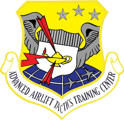 Advanced Airlift Tactics Training school shield.