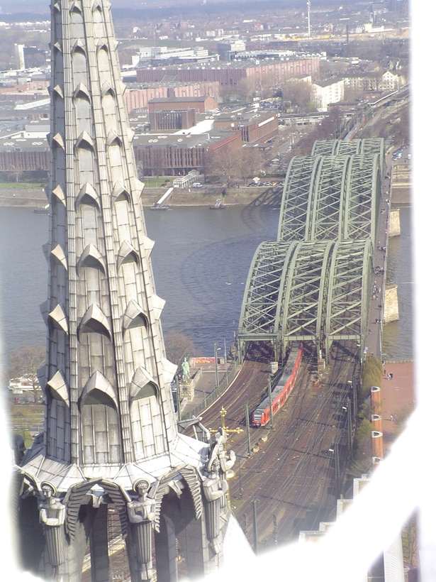 COLOGNE, Germany – Cologne, located on the Rhine River, is Germany's third largest city. Towering above the city are the steeples of the world-famous Koelner Dom, or Cologne Cathedral.(Courtsey photo)