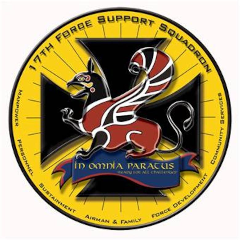 17th Force Support Squadron emblem