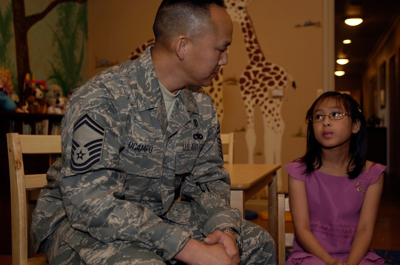 Air Force dependent child gives from the heart > 59th Medical Wing > Article Display