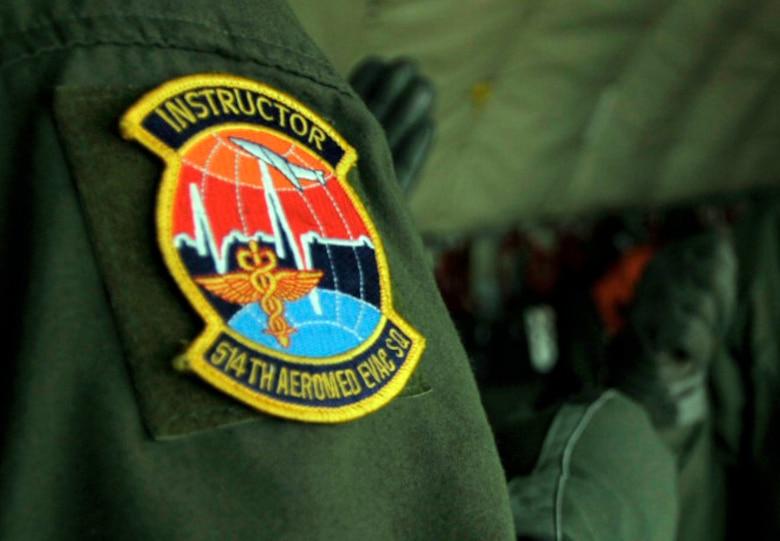 The 514th Aeromedical Evacuation Squadron is an Air Force Reserve unit at McGuire Air Force Base, N.J. (U.S. Air Force photo/Tech. Sgt. Jason Schaap)