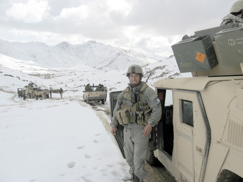 Special Operations Weather Team (SWOT) member in Afghanistan. (U.S. Air Force photo)