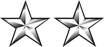 Major General, O-8 (b/w), U.S. Air Force graphic