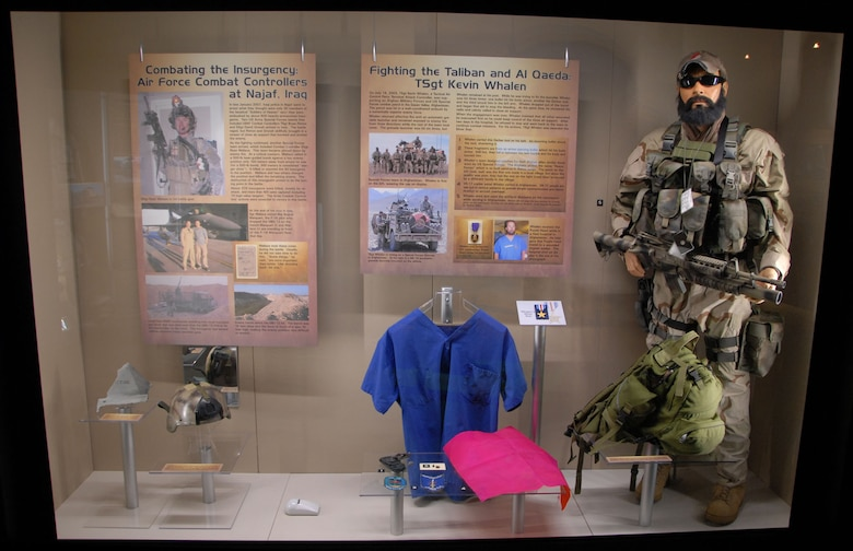 DAYTON, Ohio - Part of the Warrior Airmen exhibit in the Cold War Gallery at the National Museum of the U.S. Air Force. (U.S. Air Force photo)