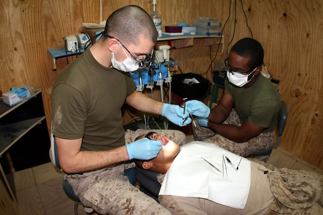 Navy Dentist Keeps Reserve Marine Warriors In The Fight