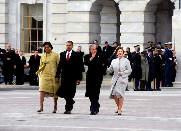 Vice President Joe Biden takes the oath of office at the 56th Presidential Inauguration Jan. 20.