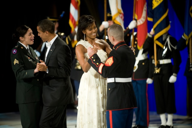 President Barack Obama takes the oath of office at the 56th Inauguration Ceremony Jan. 20.