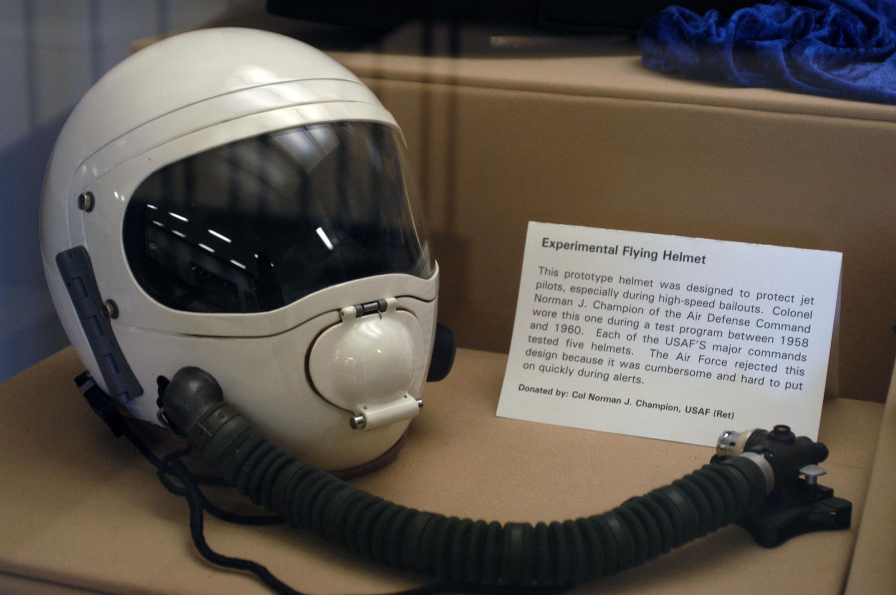 Experimental Flying Helmet Gt National Museum Of The Us Air