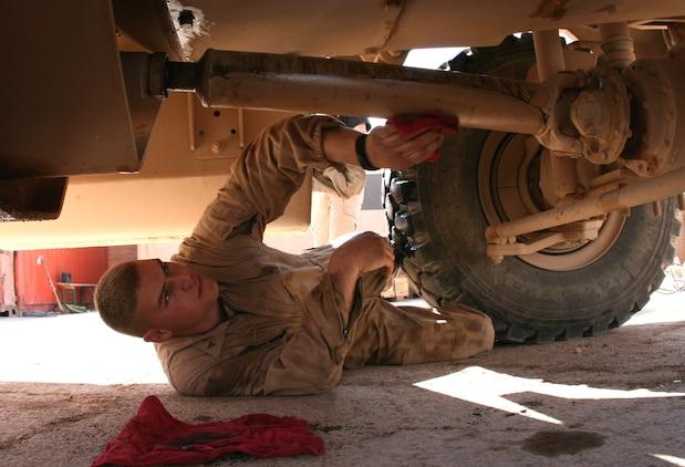 Reserve Motor Transportation Marines Keep The Mission