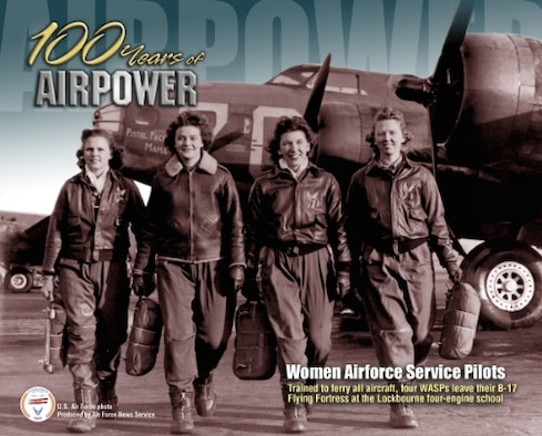 Women Airforce Service Pilots trained to ferry all aircraft