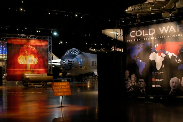 DAYTON, Ohio - The entrance to the Cold War Gallery at the National Museum of the U.S. Air Force. (U.S. Air Force photo)