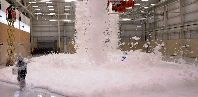Fire Suppression Foam Test Ensures Safety Of New Fuels