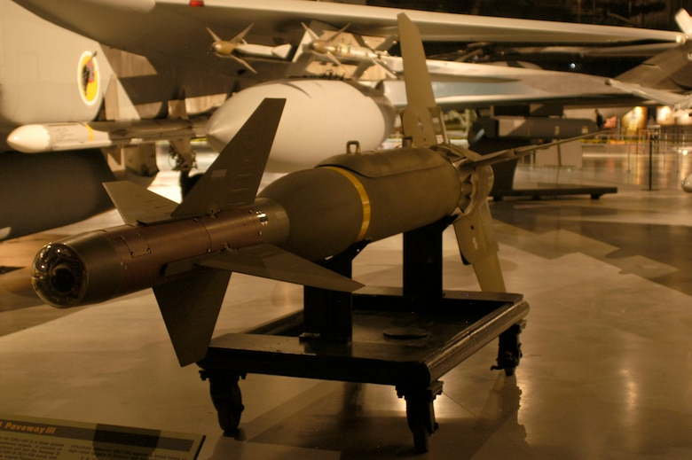 DAYTON, Ohio - The GBU-24 Paveway III on display in the Cold War Gallery at the National Museum of the U.S. Air Force. (U.S. Air Force photo)