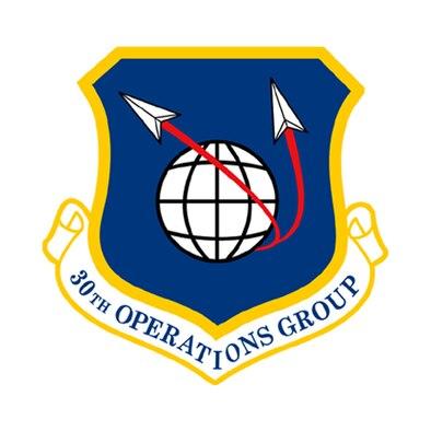 30th Operations Group emblem