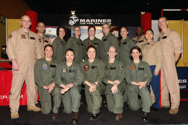 Pilots and other aviation personnel from across the Marine Corps took part in the 21st Annual Women in Aviation International Conference, Feb. 25-27.