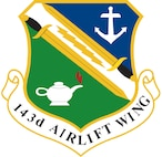 143d Airlift Wing Crest