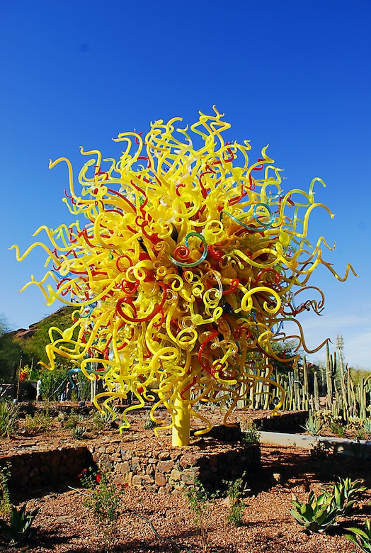 Chihuly The Nature Of Glass Luke Air Force Base Display