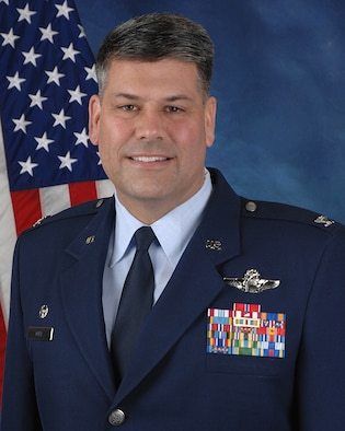 Col. Greg Otey, 19th Airlift Wing commander